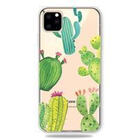 Patty gélový obal na mobil Apple iPhone 11 Pro 5.8 (2019) - kaktus