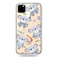 Patty gélový obal na mobil Apple iPhone 11 Pro 5.8 (2019) - koala