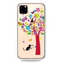 Patty gélový obal na mobil Apple iPhone 11 Pro 5.8 (2019) - farebný strom