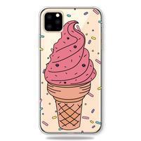 Patty gélový obal na mobil Apple iPhone 11 Pro 5.8 (2019) - zmrzlina