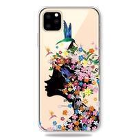 Patty gélový obal na mobil Apple iPhone 11 Pro 5.8 (2019) - dievča