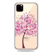 Patty gélový obal na mobil Apple iPhone 11 Pro 5.8 (2019) - motýle a strom
