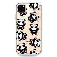 Patty gélový obal na mobil Apple iPhone 11 Pro 5.8 (2019) - panda