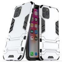 Guard hybridný odolný kryt na mobil Apple iPhone 11 Pro Max 6.5 (2019) - strieborný
