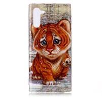 Patte gélový obal na mobil Samsung Galaxy Note 10 - tiger
