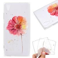 Pattern gélový obal na mobil Sony Xperia XA1 Plus - živé kvety