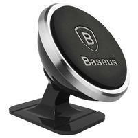 Base 360 otočný magnetický držák na mobil - stříbrný
