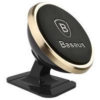 Base 360 otočný magnetický držák na mobil - zlatý