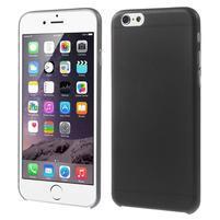 Ultra slim 0.3 mm plastové puzdro pre iPhone 6, 4.7  - čierné