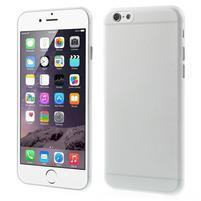 Ultra slim 0.3 mm plastové puzdro pre iPhone 6, 4.7  - transparentný