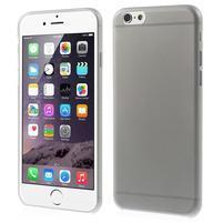 Ultra slim 0.3 mm plastové puzdro na iPhone 6, 4.7  - šedé