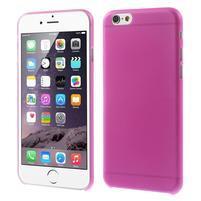 Ultra slim 0.3 mm plastové puzdro na iPhone 6, 4.7  - růžové