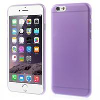 Ultra slim 0.3 mm plastové puzdro pre iPhone 6, 4.7  - fialové