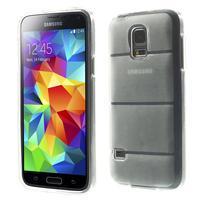 Gélové puzdro pre Samsung Galaxy S5 mini G-800- vesta transparentný