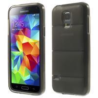 Gélové puzdro na Samsung Galaxy S5 mini G-800- vesta šedá