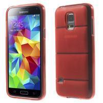 Gelové pouzdro na Samsung Galaxy S5 mini G-800- vesta červená