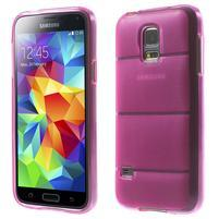 Gélové puzdro pre Samsung Galaxy S5 mini G-800- vesta ružová