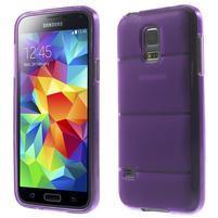 Gélové puzdro pre Samsung Galaxy S5 mini G-800- vesta fialová