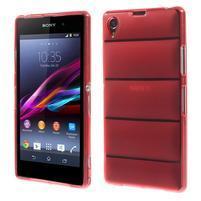 Gélové Body puzdro pre Sony Xperia Z1 C6903 - červené