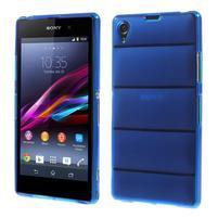 Gelové Body pouzdro na Sony Xperia Z1 C6903 - modré
