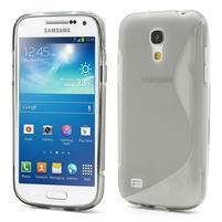 Gélové S-line puzdro pro Samsung Galaxy S4 mini i9190, i9192, GT-i9195 - šedé