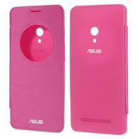 Flipové puzdro na Asus Zenfone 5 - růžové
