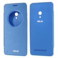 Flipové puzdro na Asus Zenfone 5 - svetlo modré