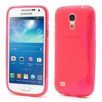 Gélové S-line puzdro pro Samsung Galaxy S4 mini i9190, i9192, GT-i9195 - rose