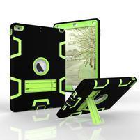 Hybridný odolný obal na iPad Air - zelený