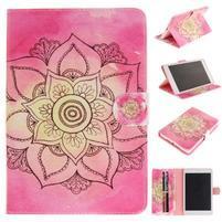 Patty klopové puzdro na iPad Air - rose lotus