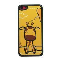 Anime plastový obal na iPhone 5C - žirafka