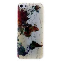 Bossi gélový obal na iPhone 5 / 5S / SE - abstrakt
