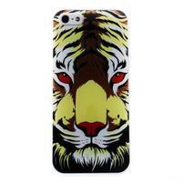 Bossi gélový obal na iPhone 5 / 5S / SE - tiger
