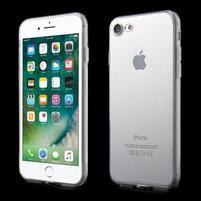 Clear gélový obal na iPhone 7 a 8 - transparentné
