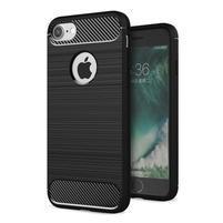 RuggiBrush odolný gélový obal na iPhone 7 a 8 - čierny