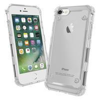 Bumper style hybridný obal na iPhone 7 a iPhone 8 - transparentná