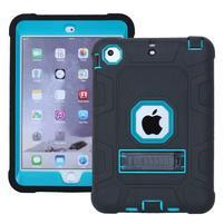 Protect odolný hybridný obal na iPad mini / iPad mini 2 / iPad mini 3 - modrý
