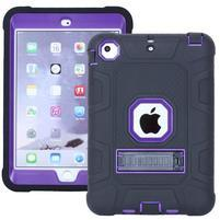 Protect odolný hybridný obal na iPad mini / iPad mini 2 / iPad mini 3 - fialový
