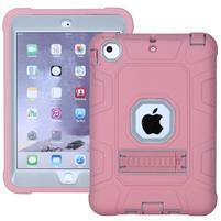 Protect odolný hybridný obal na iPad mini / iPad mini 2 / iPad mini 3 - Rosegold / sivý