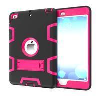 Full hybridný odolný obal na iPad mini 3 / iPad mini 2 / iPad mini - rose
