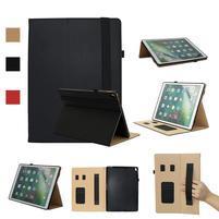 Litch PU kožené puzdro s funkciou stojanu na iPad Pro 12.9 (2017) - čierne