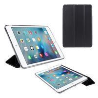 Foldy polohovateľné puzdro so skladacou chlopňou na iPad mini 3, iPad mini 2, iPad mini - čierne