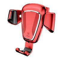 Gravi univerzální autodržák na telefon do větráku - červený