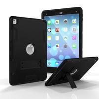 Stand hybridný odolný obal na iPad Pro 9.7 - čierny