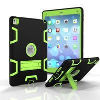 Stand hybridný odolný obal na iPad Pro 9.7 - zelený