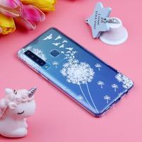 Pattern gélový obal na Samsung Galaxy A9 - púpava