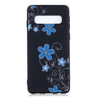Printy gélový obal na mobil Samsung Galaxy S10 - kvety