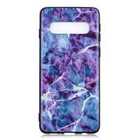 Printy gélový obal na mobil Samsung Galaxy S10 - mramor