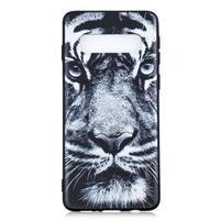 Printy gélový obal na mobil Samsung Galaxy S10 - tiger