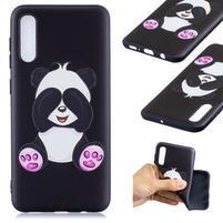 Patt gélový obal na Samsung Galaxy A50 - roztomilá panda